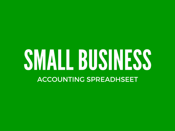 Income And Expenditure Template For Small Business   Excel For Small Business Spreadsheets