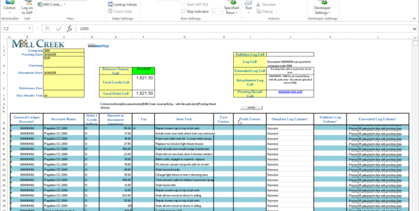 Integrate Sap To Excel | Winshuttle Software Intended For Sample Excel Spreadsheet With Data