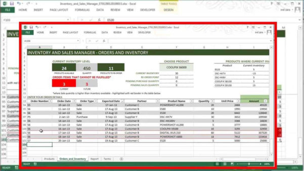 Inventory Report Sample Excel | Sosfuer Spreadsheet To Sample Excel File Inventory