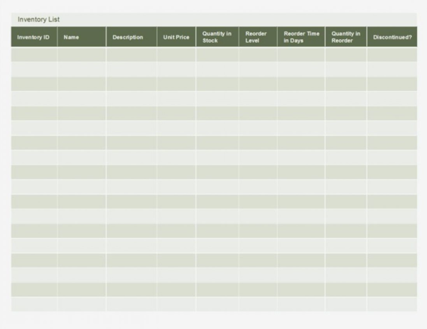 Inventory Spreadsheet Template Excel Of Computer Templates Necessary For Inventory Spreadsheet Template Excel