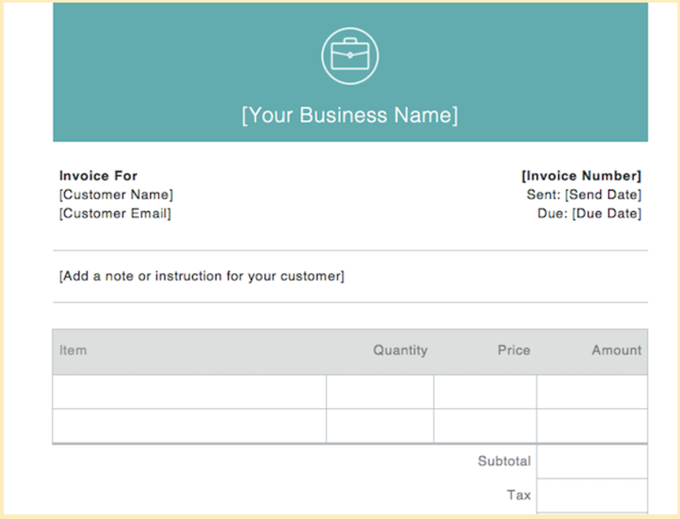 Invoice Examples For Every Kind Of Business With Business Invoice Program Sample