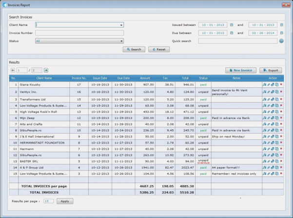Invoice Software For Small Business Free Download – Funf.pandroid With Business Invoice Program