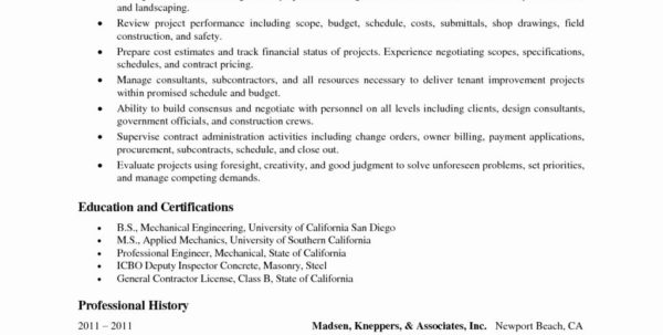 It Project Manager Job Description Construction Management Contract Intended For Project Management Contracts Templates Project Management Contracts Templates Example of Spreadsheet