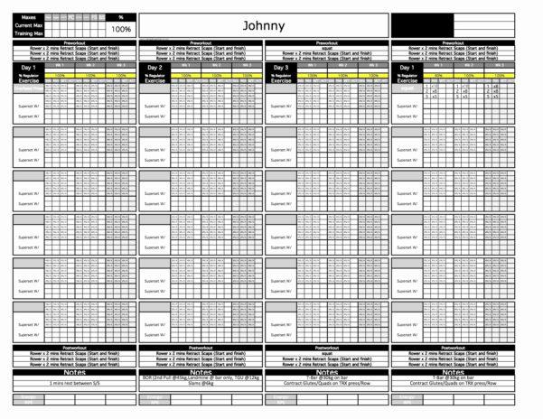Juggernaut Training Spreadsheet Elegant Juggernaut Method 2 0 In Training Spreadsheet Template