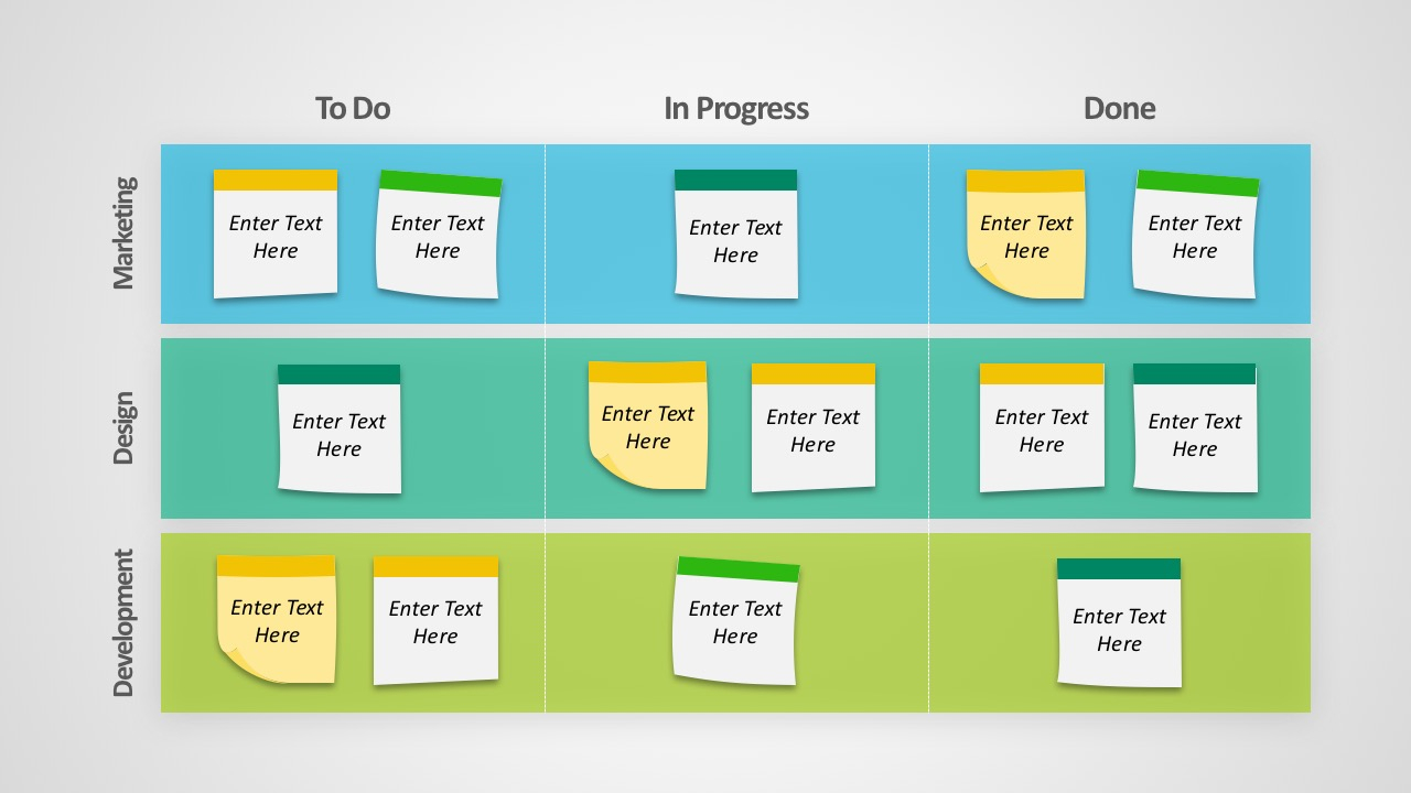 Kanban Project Management Powerpoint Templates - Slidemodel And Project Management Presentation Templates