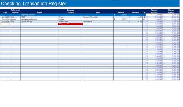 Labeled Accounting Ledger Template Printable Budget Ledger Template Within Excel Bank Account Template