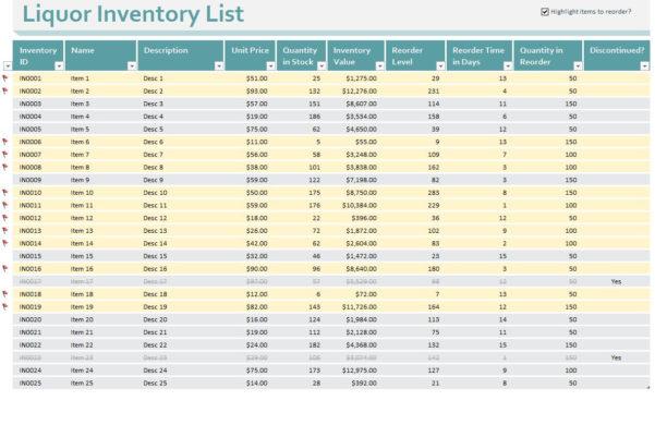 Liquor Inventory Control Spreadsheet As Google Spreadsheets How To In Stock Control Excel Spreadsheet Template Free