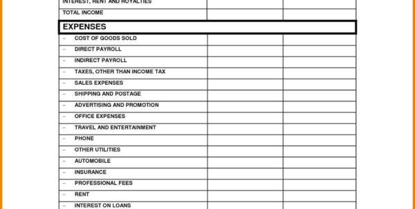 Loss Form Dingliyeya Spreadsheet Simple Statement Bio Example For To Income Tax Spreadsheet Templates