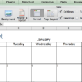 Make A 2018 Calendar In Excel (Includes Free Template) For Sample Of Excel Spreadsheet With Data