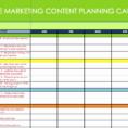 Marketing Calendar Example Marketing Calendar Excel Calendar Intended For Marketing Calendar Template Free