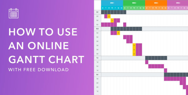 Mastering Your Production Calendar [Free Gantt Chart Excel Template] For Gantt Chart Template Free
