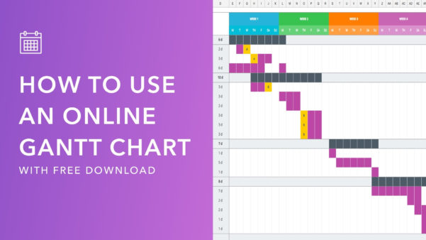 Mastering Your Production Calendar [Free Gantt Chart Excel Template] To Excel Free Gantt Chart Template Xls