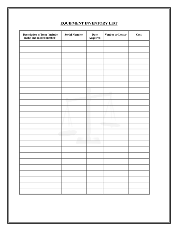 Medical Supply List Template   Zoro.9Terrains.co In Supply Inventory Spreadsheet Template
