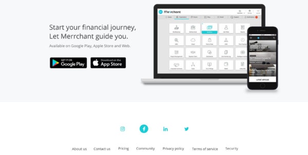 Merrchant : Simple Cloud Accounting Software For Entrepreneurs Intended For Google Bookkeeping Software