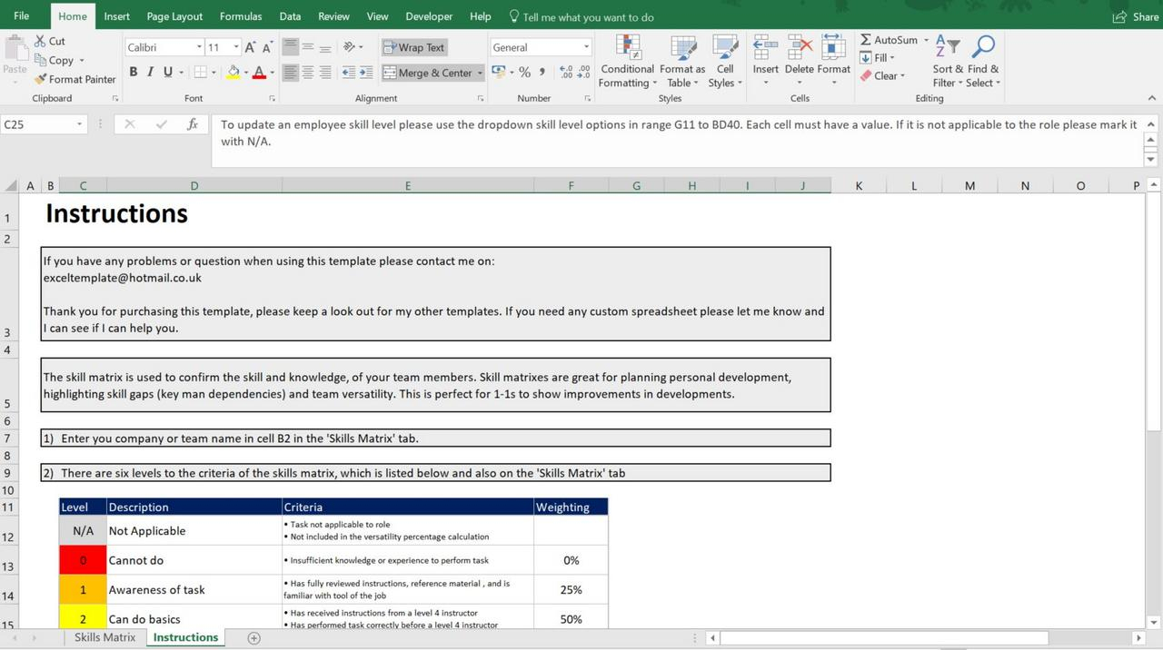 Microsoft Excel Spreadsheet Employee, Staff, Office / Skills with Excel Spreadsheet