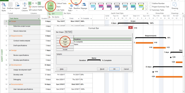 Microsoft Project Tutorial: Exporting To Powerpoint With Gantt Chart Template Microsoft Office