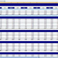 Monthly And Yearly Budget Spreadsheet Excel Template Inside Personal Budget Spreadsheet Template