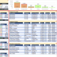 Monthly Personal Budget Template For Excel | Robert Mcquaig Blog Throughout Monthly Financial Budget Template
