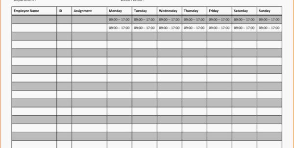 Monthly Time Schedule Template Employee Work Excel Source Google Intended For Monthly Employee Work Schedule Template Excel
