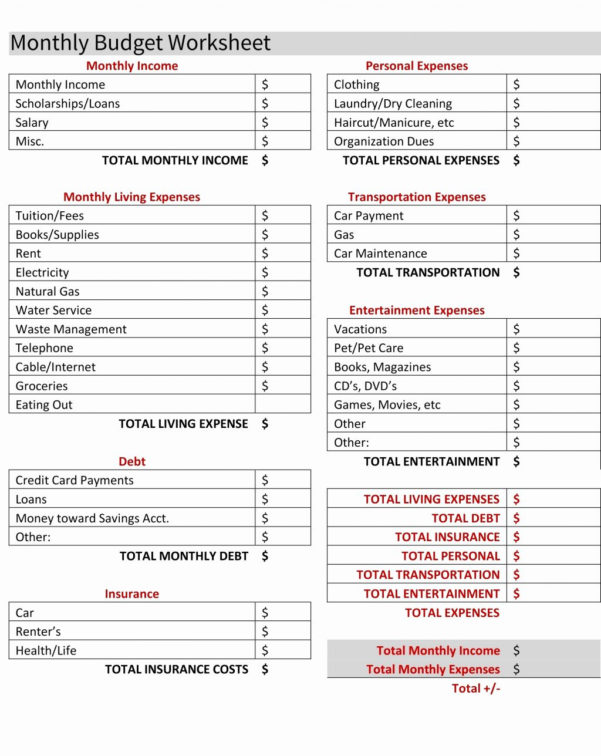 Mortgage Calculator Google Spreadsheet For Free Cash Flow Statement To Personal Monthly Cash Flow Statement Template Excel