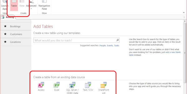 Moving Data Forward Into Access 2013   Microsoft 365 Blog For Excel Database Template Wizard