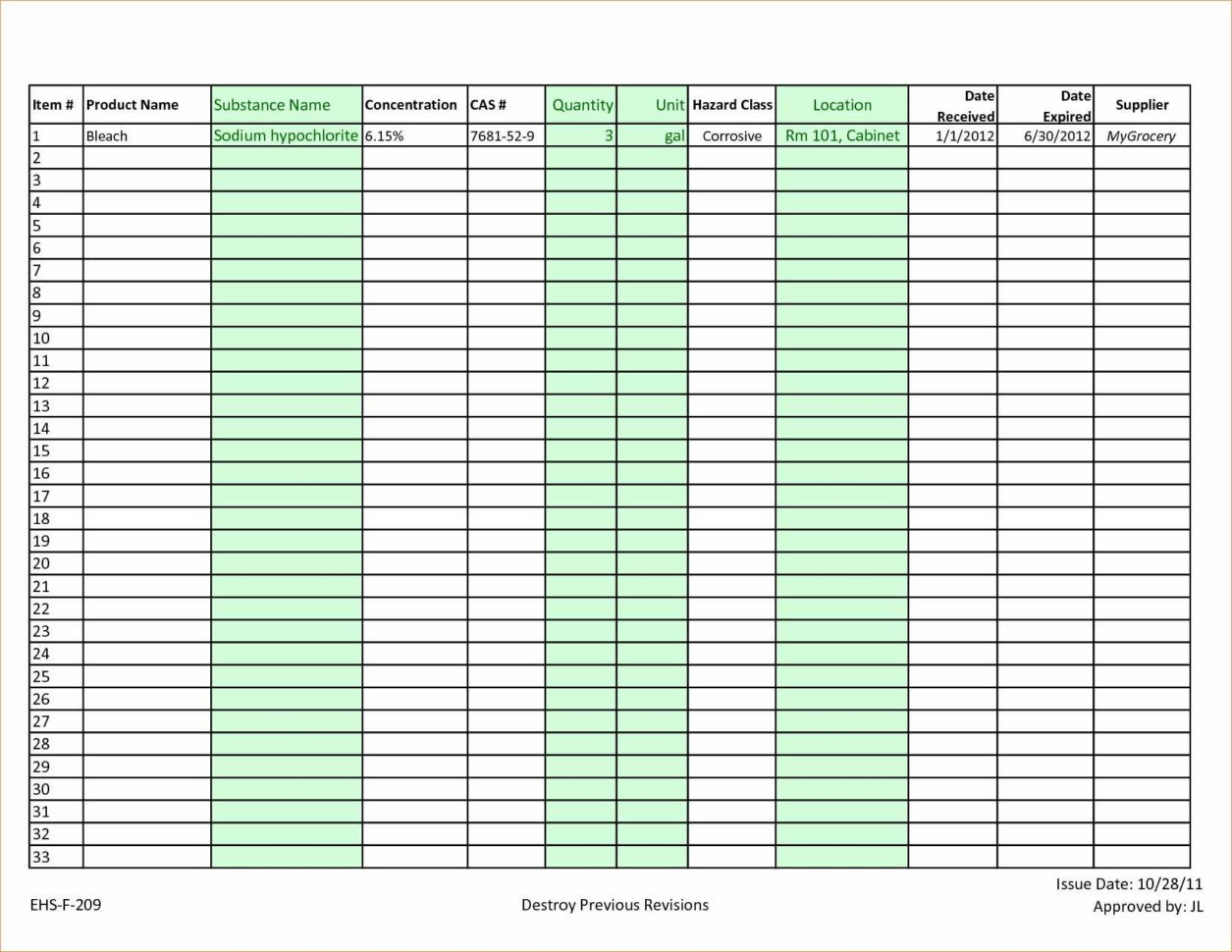 Nail Polish Inventory Spreadsheet   Twables.site Intended For Sample Inventory Spreadsheet