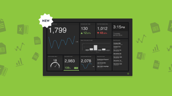 New: Build An Excel Dashboard With Our New Spreadsheets Integration Intended For Free Excel Dashboard Widgets