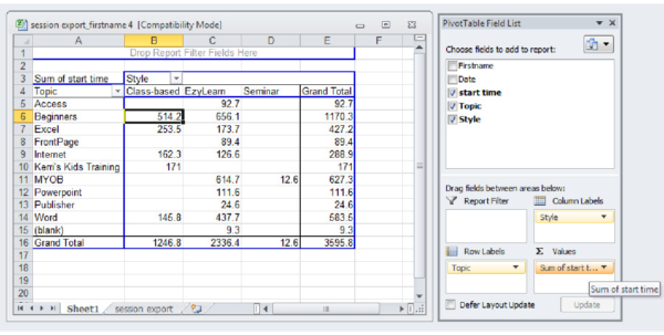 New Training Material: Advanced Microsoft Excel 2010 Videos Within Bookkeeping With Excel 2010
