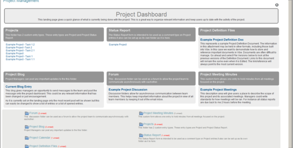 Novell Vibe | Project Management Template Throughout Project Management Meeting Templates