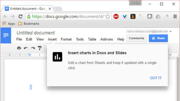 Now Insert And Link Spreadsheet Charts Into Google Docs And Slides With Google Docs Spreadsheet