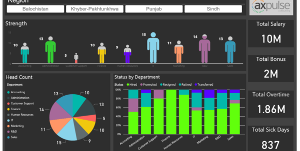 Partner Showcase | Microsoft Power Bi To Free Excel Hr Dashboard Templates