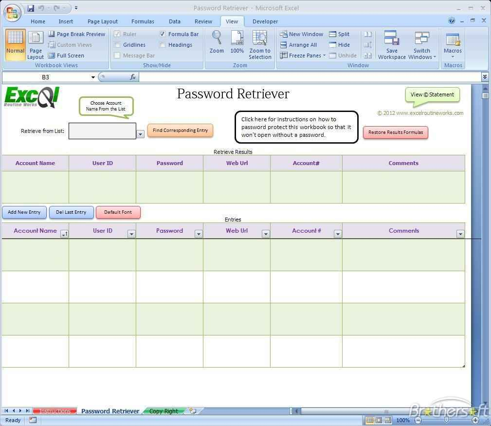 Password Spreadsheet Template Spreadsheet Templates For … – Bulat In Password Spreadsheet