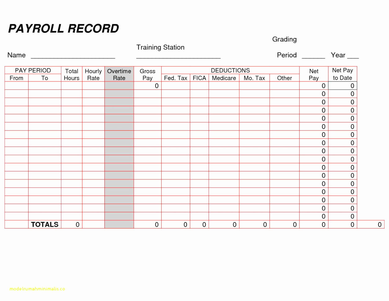 Pay Stub Spreadsheet Luxury Free Payroll Check Stub Template Intended For Free Payroll Sheet Template