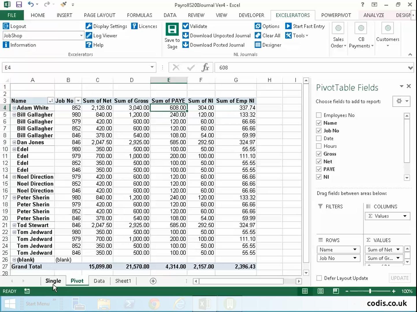 Payroll In Excel - Durun.ugrasgrup Intended For Payroll Spreadsheet Template Uk