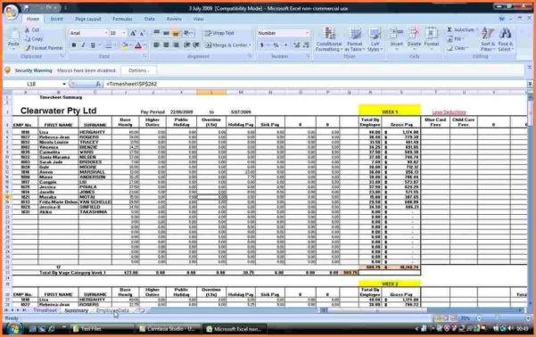 Payroll Spreadsheet Template Excel As Spreadsheet App For Android With Payroll Spreadsheet
