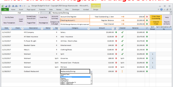 Personal Budgeting Software Excel Budget Spreadsheet Template For Budgeting Spreadsheet Template