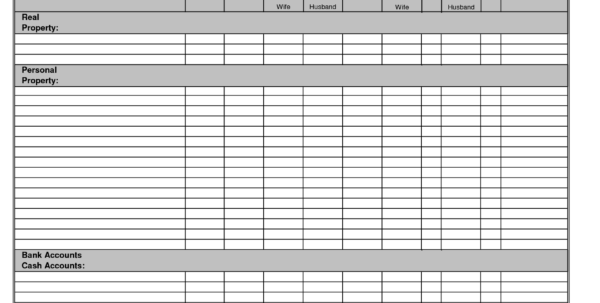 Personal Finance Sheets   Kairo.9Terrains.co With Personal Financial Budget Template