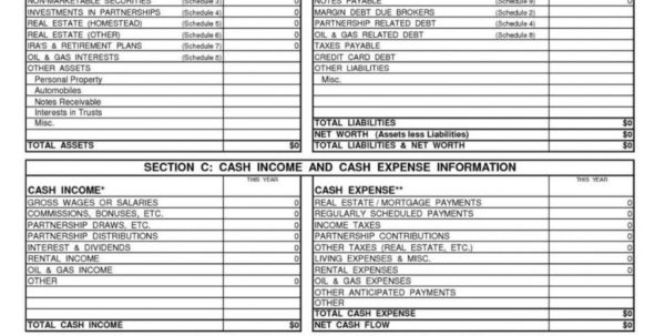 Personal Financial Statement Template Excel Best Business Temp In Personal Financial Spreadsheet Templates