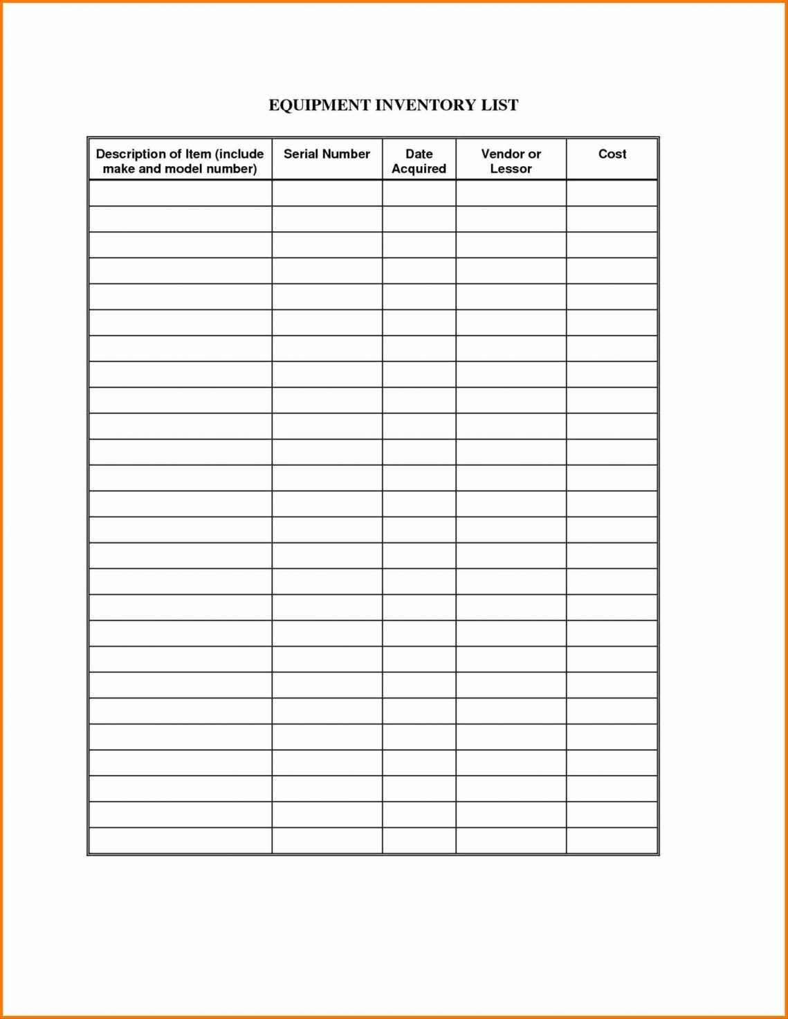 Pest Control Log Sheet Template As Well As Bakery Inventory Sheet Throughout Inventory Spreadsheet Templates