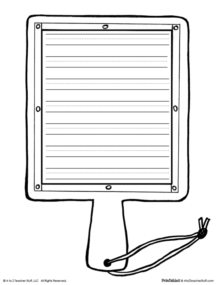 Printable Hornbook Replica And Templates | A To Z Teacher Stuff Throughout Worksheet Templates For Teachers