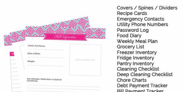 Printable Password Keeper | Worksheet & Spreadsheet Within Free Printable Password Keeper