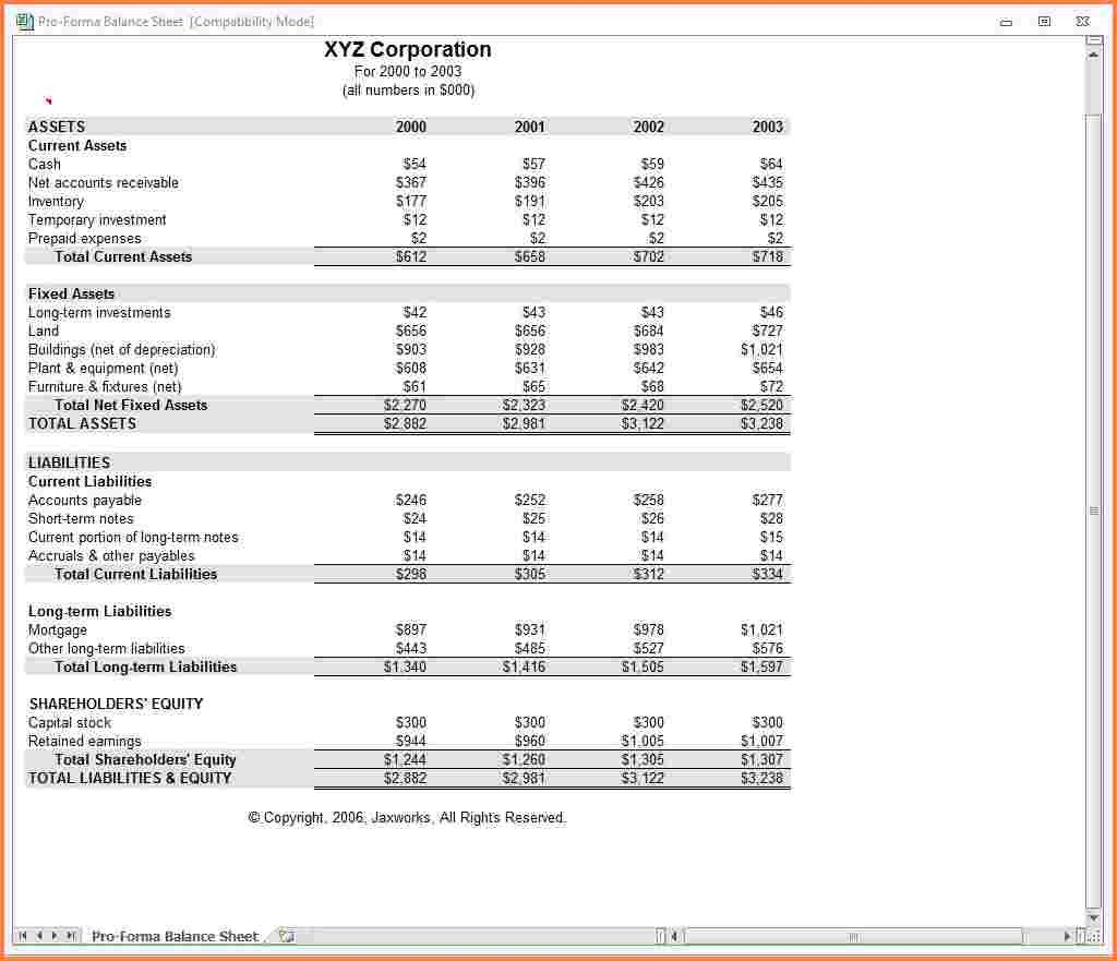Pro Forma Income Statement Template Registration Lively Simple Inside Income Statement Template In Excel