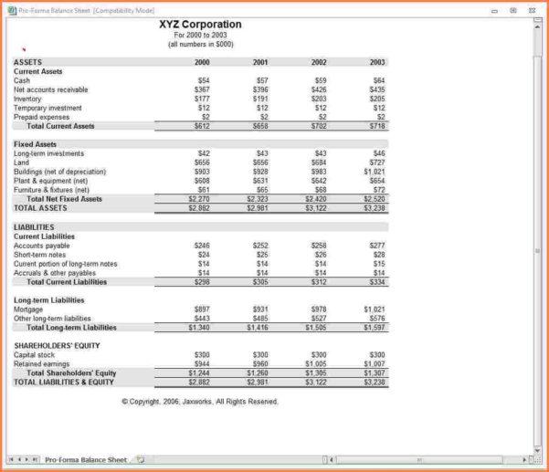 Pro Forma Income Statement Template Registration Lively Simple To Income Statement Template Excel