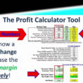 Profit Calculator Formula Gross Excel Margin Template Fanciful For Profit Margin Calculator Excel Template