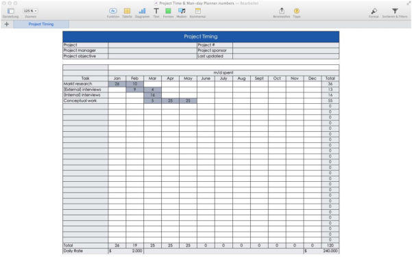Project Calendar Template Excel Hourly Gantt Chart Excel Template And Gantt Chart Excel Template Free Download Mac
