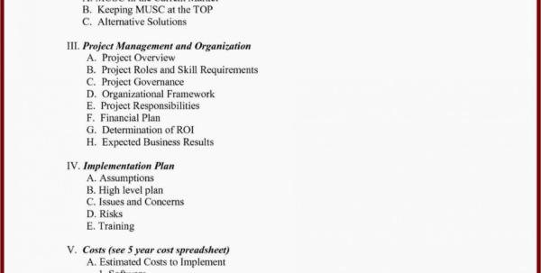 Project Management Business Case Template Book Of Business Templates In Project Management Templates Word