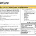 Project Management Charter Template Sample Simple | Thewilcoxgroup with Project Management Charter Templates