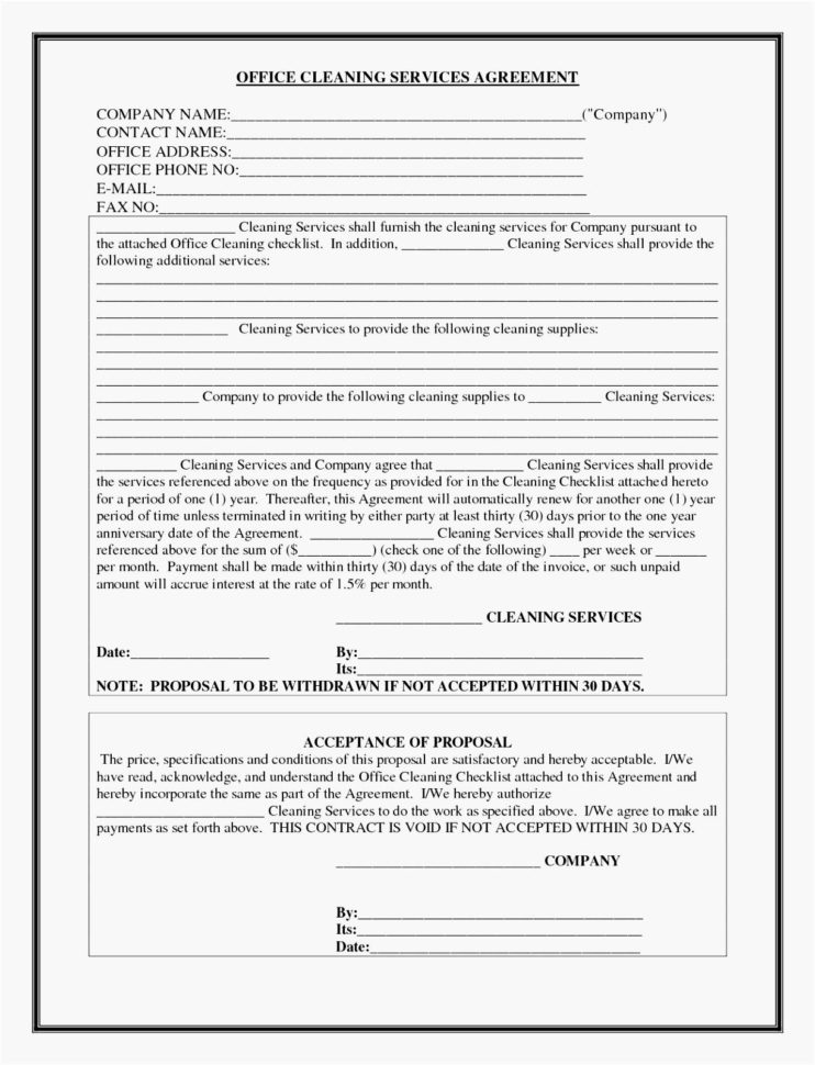 Project Management Contract Template 5 Facilities Management With Project Management Contracts Templates