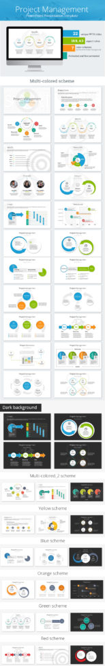 Project Management Powerpoint Presentation Templatesananik Within Project Management Presentation Templates