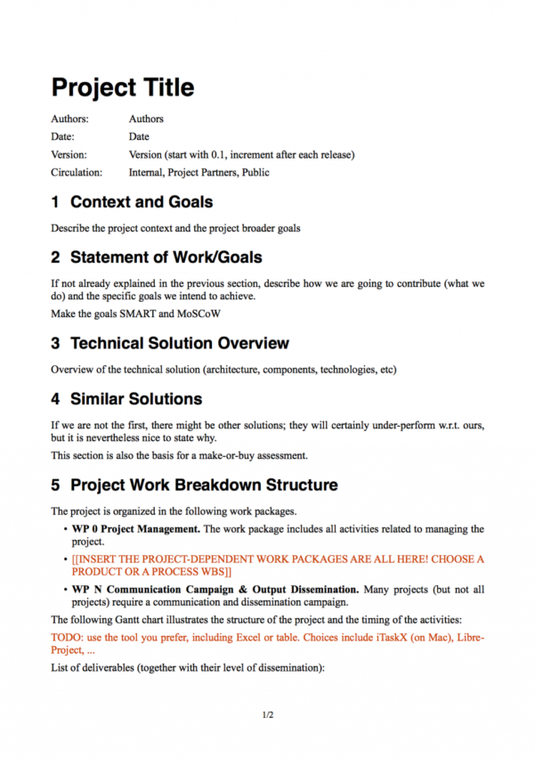 Project Management Scope Example Template Pdf Creep | Thewilcoxgroup For Project Management Templates Pdf